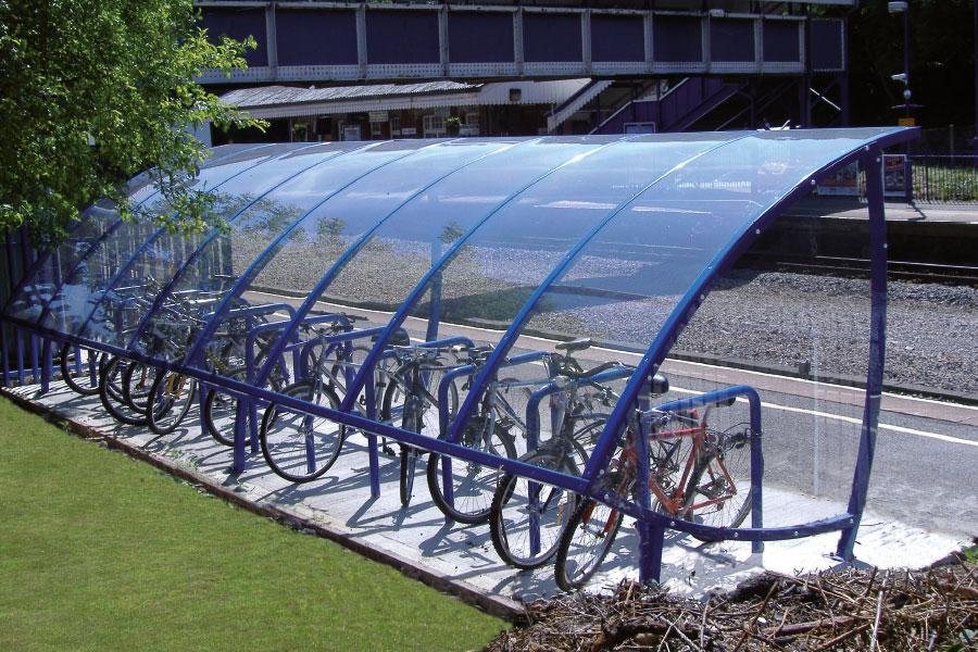tettoia per bici