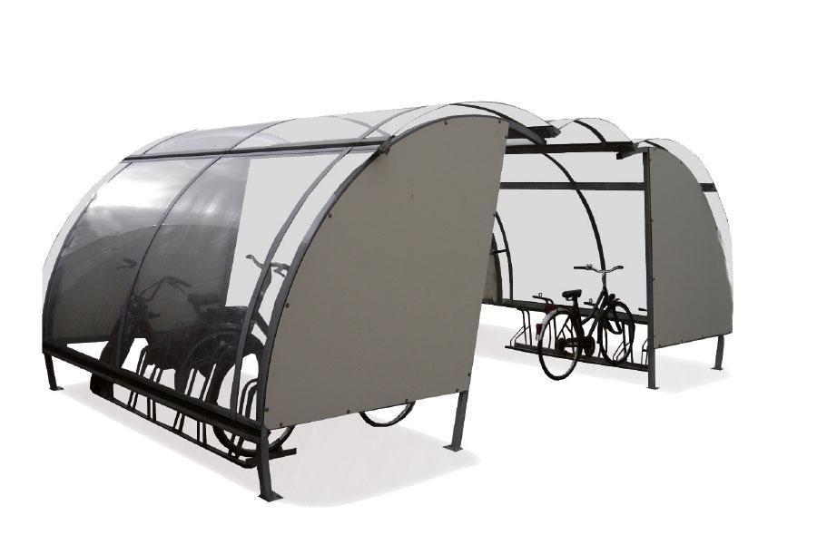 deposito tettoie per biciclette