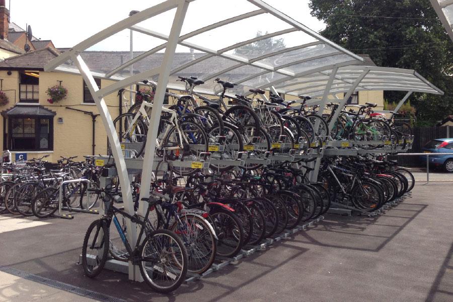 pensiline per bici